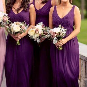{David's Bridal} Bridesmaid Dress